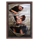 『布越しの裸婦』 M30号(60x90cm)