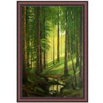 『静寂の森』 M30号(90x60cm)