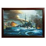 『重巡洋艦『足柄』の勇姿』 M30号(606x910mm)