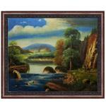 『いにしえの自然』 40x50cm