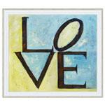 『LOVE』 F12号(50x60cm)