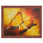 『黄色い蝶』 F12号(50x60cm)