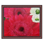 『大きな赤い花』 F12号(50x60cm)