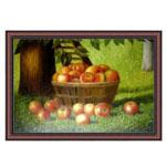 『林檎の盛られた籠』 M30号(90x60cm)