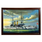 『重巡洋艦『富士』の勇姿』 M30号(606x910mm)
