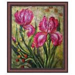 『紅色の花』 F12号(50x60cm)