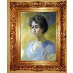 『或る女性の肖像』 F12号(50x60cm)